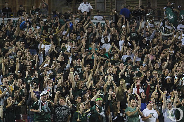 The Taco Bus location on Fletcher Avenue near campus offers a promotion after every home football game that USF wins. The opponent's score is the price of tacos in pennies. The promotion is good for up to two tacos per student. ORACLE FILE PHOTO/ADAM MATHIEU