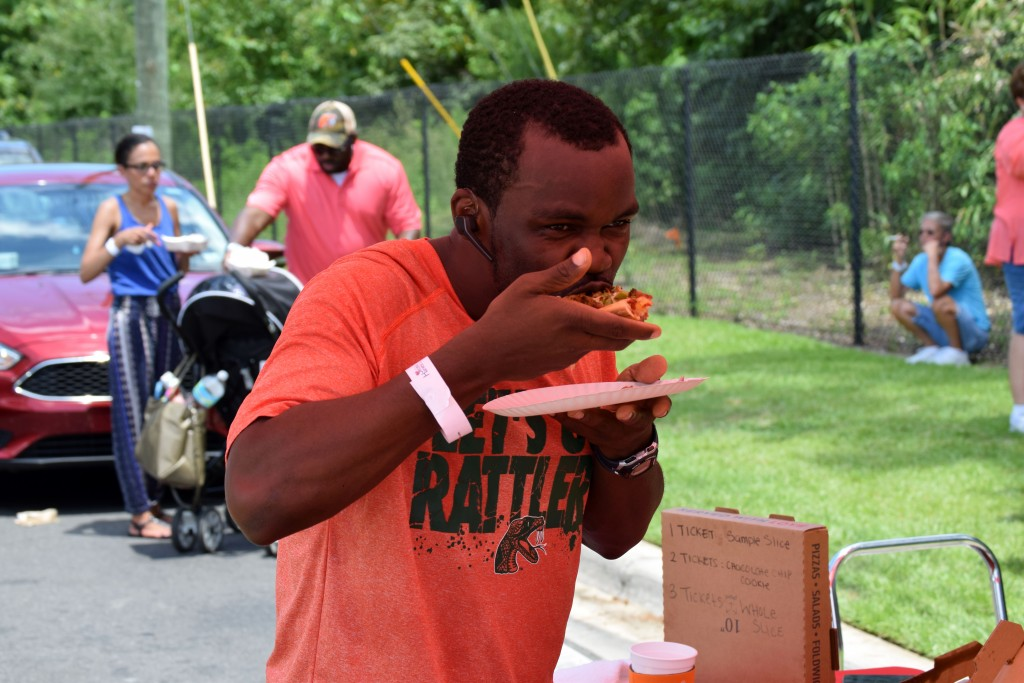 Hundreds of residents had their taste buds tickled at the inaugural Taste of Tally.