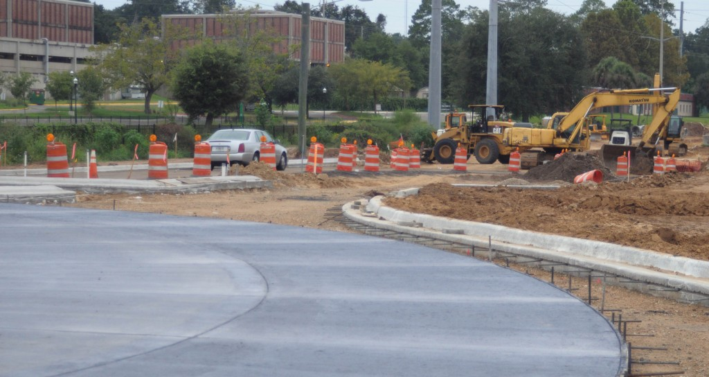 D.A. Robin; 09/28/2014 @ FAMU Way  The extension to FAMU Way will feature roundabouts among other new amenities. City officials say the years of work will be worth it when traffic flow eases.