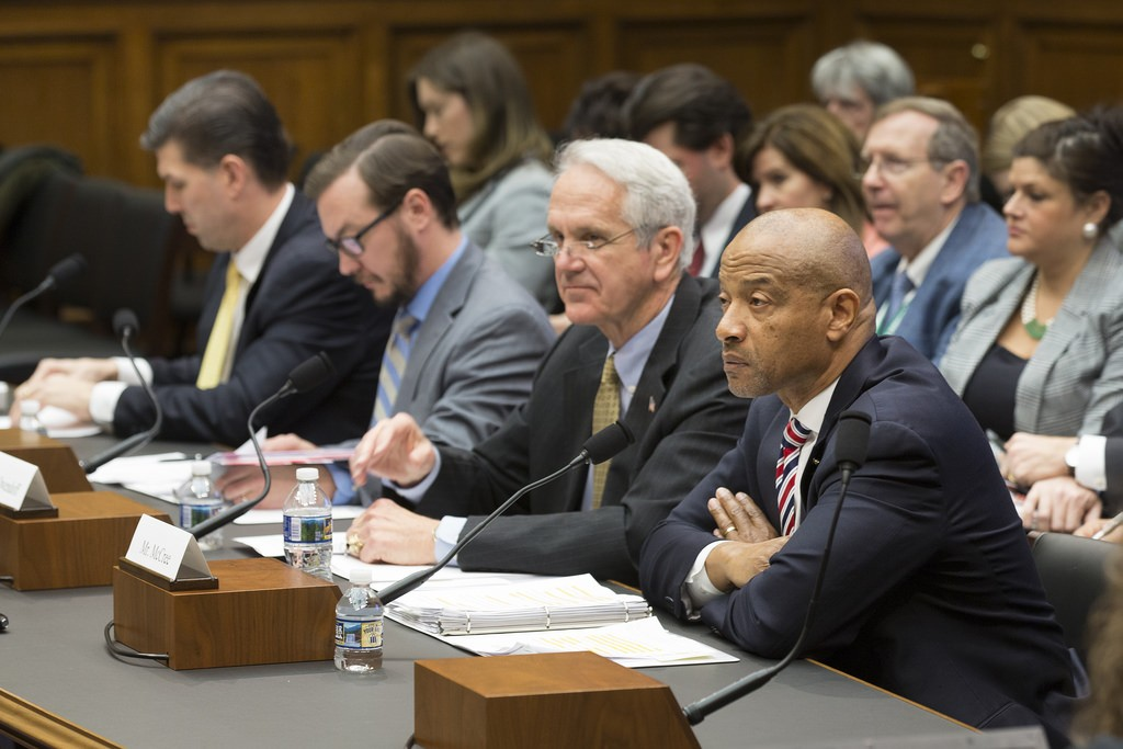 Members of the U.S. House of Representatives' Committee on Energy and Commerce.
