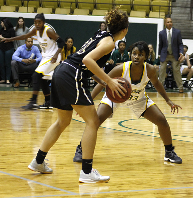 This was the first game of the season for the Lady Lions women's basketball team. They played against Loyola University. This will be Head Coach Gauff's first time coaching the women's basketball team. Gauff was previously the assistant coach for the men's basketball team.