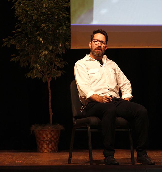 Chris Eder describing how Yoga saved him from PTSD.