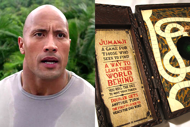 "Jumanji remake adds ""The Rock"" to cast – The Oracle"