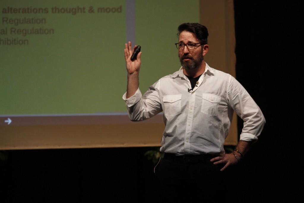 Chris Eder explaining how Yoga saved his life from PTSD